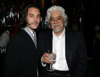 Jack Huston and Robert Graham Jr. at the Hollywood Legacy Awards.