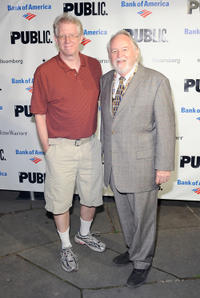 David Manis and Dakin Matthews at the 2011 Shakespeare In The Park Gala in New York.