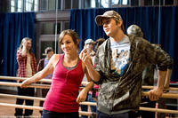 Briana Evigan and Robert Hoffman in