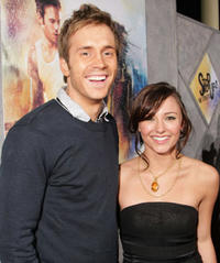 Briana Evigan and Robert Hoffman at the L.A. premiere of