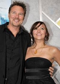 Greg Evigan and Briana Evigan at the world premiere of