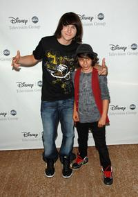 Mitchel Musso and Moises Arias at the Disney and ABC's TCA - All Star Party.
