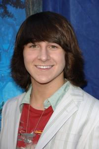 Mitchel Musso at the premiere of