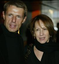 Nathalie Baye and Lambert Wilson at the French Film Festival.
