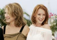 Nathalie Baye and Ludivine Sagnier at the photocall for the film