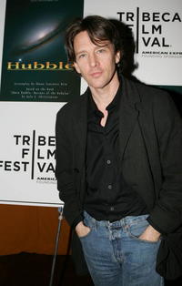Andrew McCarthy at the Sloan Reading Panel at the Tribeca Film Festival.