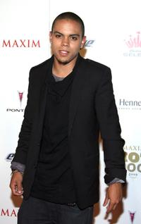 Evan Ross at the MAXIM's 2008 Hot 100 party.