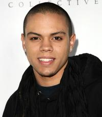 Evan Ross at the opening of DCMA Collective's flagship store.