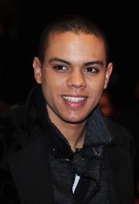 Evan Ross at the premiere of