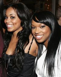 Lauren London and Khadijah Haqq at the after party of the premiere of