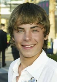 Zac Efron at the WB Network's 2004 All Star Summer Party.