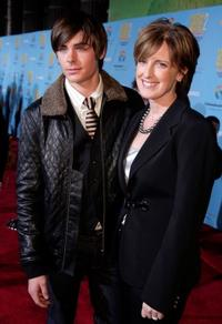 Zac Efron and Anne Sweeney at the DVD premiere of