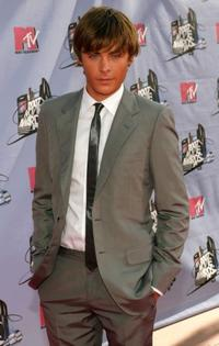Zac Efron at the 2007 MTV Movie Awards.