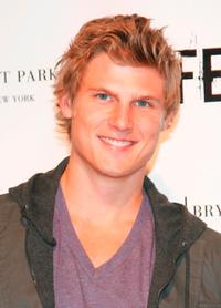 Travis Van Winkle at the FEARnet's 2nd anniversary party.