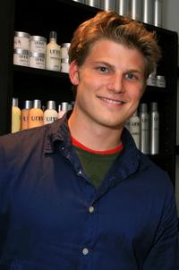 Travis Van Winkle at the REEL Lounge Retreat at Point De Vue Salon.