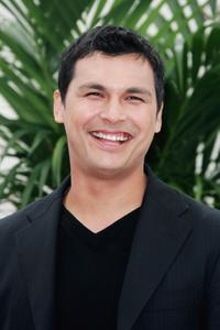 Adam Beach at a photocall promoting the television serie