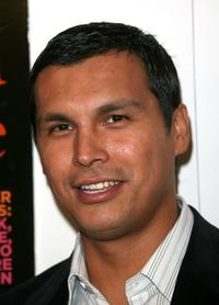 Adam Beach at the Hollywood Life magazine's 6th Annual Breakthrough Awards.