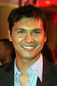 Adam Beach at a cocktail reception during the 24th Annual Genie Awards.