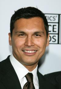 Adam Beach at the Lexus Critic's Choice Awards After Party.