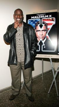 James McDaniel at the 40th Anniversary of the Death of Malcolm X.