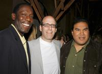 James McDaniel, Matthew C. Blank and Chris Eyre at the Tribeca Film Festival.