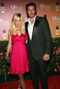 Tori Spelling and Dean McDermott at the US Weekly Hot Hollywood Awards.