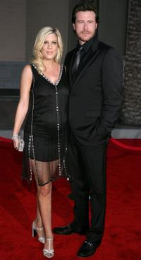 Tori Spelling and Dean McDermott at the 2006 American Music Awards.