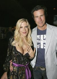 Tori Spelling and Dean McDermott at the screening party of