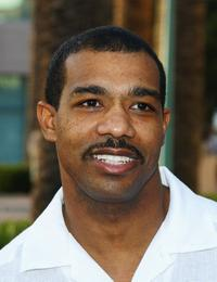 Michael Beach at an Evening With John Wells and Friends From ER, Third Watch and The West Wing.