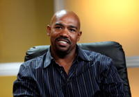 Michael Beach at the 2008 Summer Television Critics Association Press Tour for Hallmark.