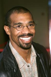 Michael Beach at the New York the screening of