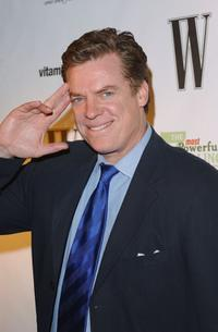 Christopher McDonald at the W Magazine party honoring author John Livesay.