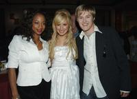 Monique Coleman, Ashley Tisdale and Lucas Grabeel at the after party of the DVD launch of