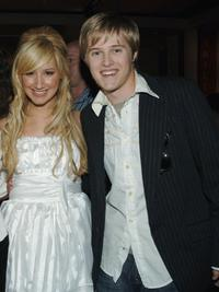 Ashley Tisdale and Lucas Grabeel at the after party of the DVD launch of