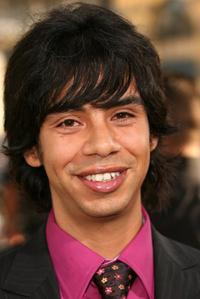 Hector Jimenez at the premiere of