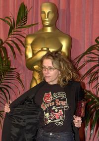 Frances McDormand at the Academy Awards nominees luncheon in Beverly Hills.