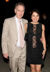 John McEnroe and Patty Smyth at the Vanity Fair party of 2009 Tribeca Film Festival.