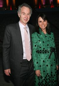 John McEnroe and his wife Patty Smythe at the Vanity Fair party during the Tribeca Film Festival.