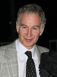 John McEnroe at the Vanity Fair party during the 2008 Tribeca Film Festival.