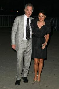 John McEnroe and Patty Smyth at the Vanity Fair party during the 2008 Tribeca Film Festival.