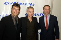 Alex Matthiessen, John McEnroe and Robert F. Kennedy Jr. at the 2nd benefit photo auction for Riverkeeper.
