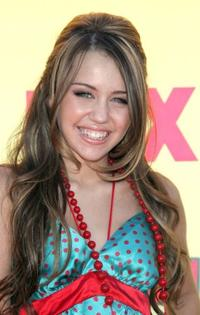 Miley Cyrus at the 8th Annual Teen Choice Awards.