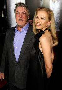 Bruce McGill and Gloria Lee at the premiere screening of