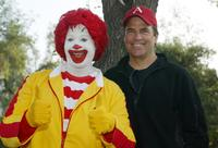 Ronald McDonald and Ted McGinley at the 24th Annual Saint John's Jimmy Stewart Relay Marathon.