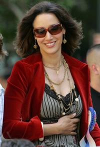 Jennifer Beals at the 36th annual LGBT Pride Parade.