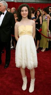 Ivana Baquero at the 79th Annual Academy Awards.