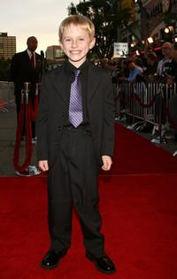 Nathan Gamble at the premiere of