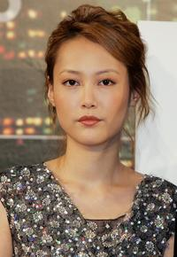 Rinko Kikuchi at the press conference to promote