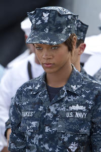 Rihanna as Raikes in ``Battleship.''