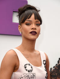 Rihanna at the California premiere of